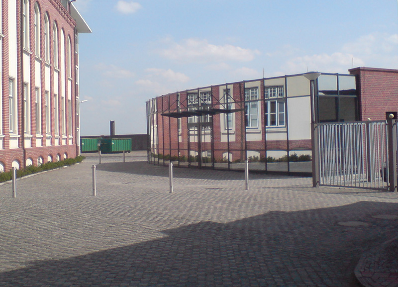 Werkschutzgebäude – vergrößern –